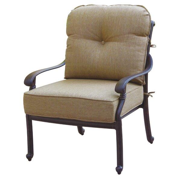 Windley Club Chair with Cushion by Fleur De Lis Living