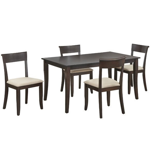 Alfred 5 Piece Dining Set by August Grove August Grove