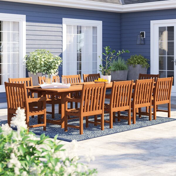 Brighton 11 Piece Dining Set by Sol 72 Outdoor