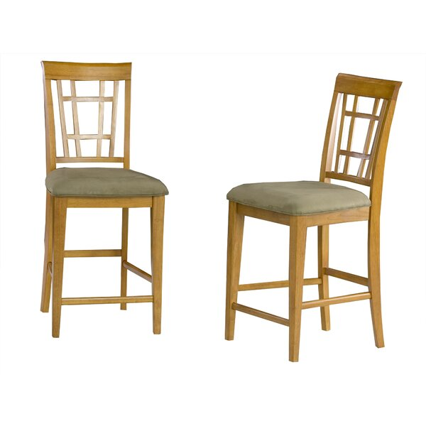 Bluffview 25.25 Bar Stool (Set of 2) by Darby Home Co