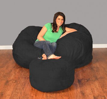 Breton Extra Large Bean Bag Sofa By Bay Isle Home