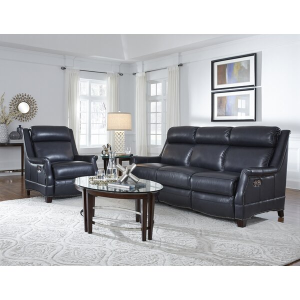 Warrendale Leather Reclining Configurable Living Room Set by Orren Ellis