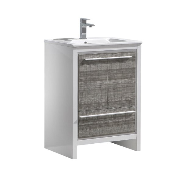Trieste Allier Rio 24 Single Bathroom Vanity Set by Fresca