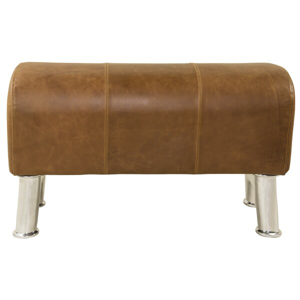 Stratton Pommel Upholstered Bench by 17 Stories