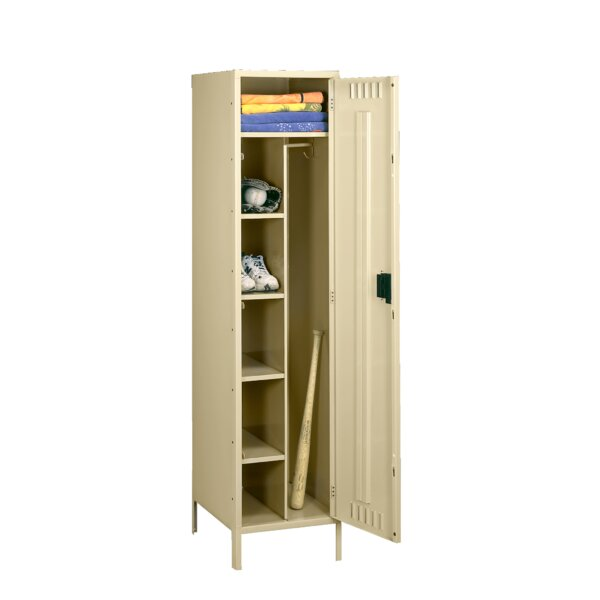 1 Tier 1 Wide School Locker by Tennsco Corp.