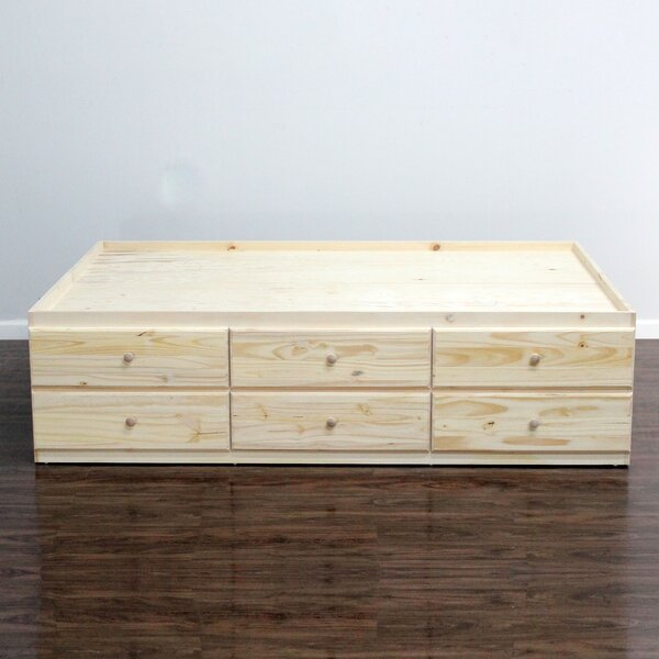 Algere Mate's and Captain's Bed with Drawer by Winston Porter Winston Porter