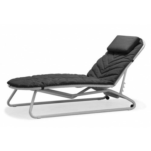 South Sunbed Chaise Lounge with Cushion