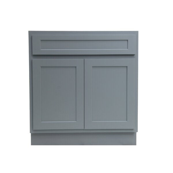 Hibbitts Single Bathroom Vanity Base by Winston Porter