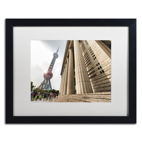 Pearl Tower by Philippe Hugonnard Framed Photographic Print by Trademark Fine Art