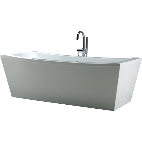 Terra 70 x 34.25 Soaking Bathtub by Ove Decors