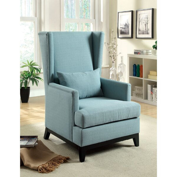Amory Wingback Chair by Hokku Designs