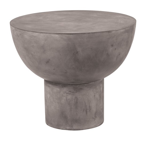Perpetual Concrete Side Table by Seasonal Living