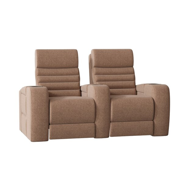 Review Alexandria Home Theater Loveseat (Row Of 2)