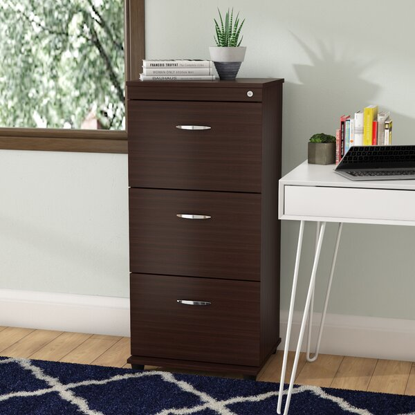 Bayswater Commercial 3 Drawer Filing Cabinet by Ebern DesignsBayswater Commercial 3 Drawer Filing Cabinet by Ebern Designs