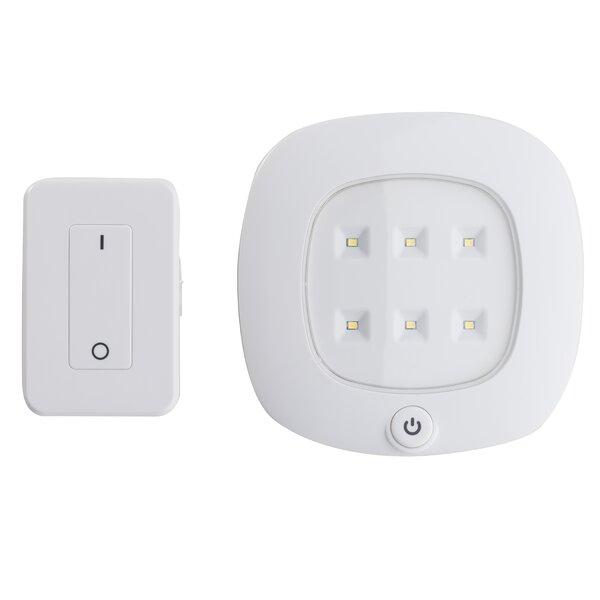 6-Light LED Under Cabinet Puck Light by Light It!