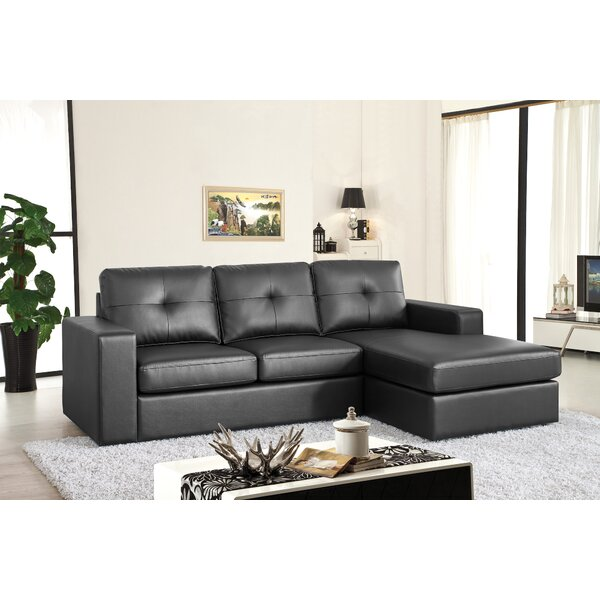 Right Hand Facing Modular Sectional By Winston Porter