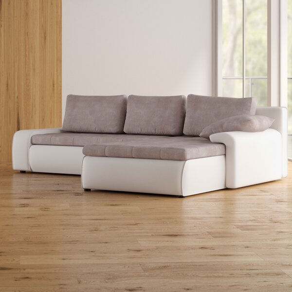 Adrien Sleeper Sectional by Wade Logan