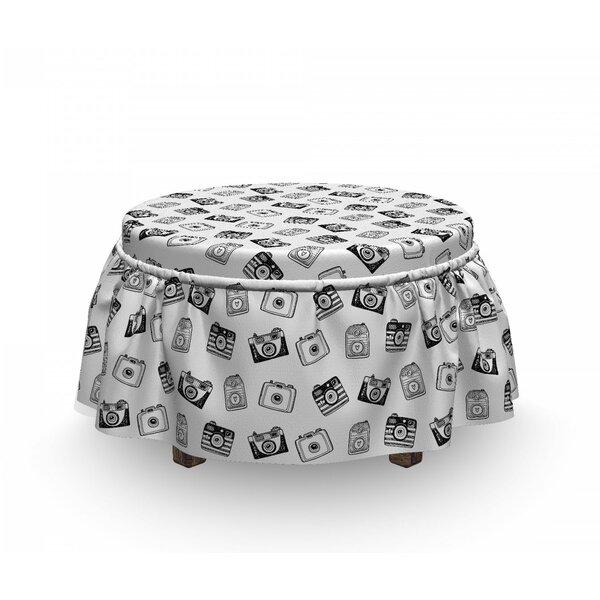 Sale Price Box Cushion Ottoman Slipcover
