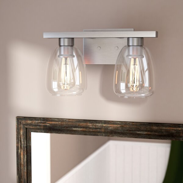 Picher 2 Light Vanity Light [Laurel Foundry Modern Farmhouse]