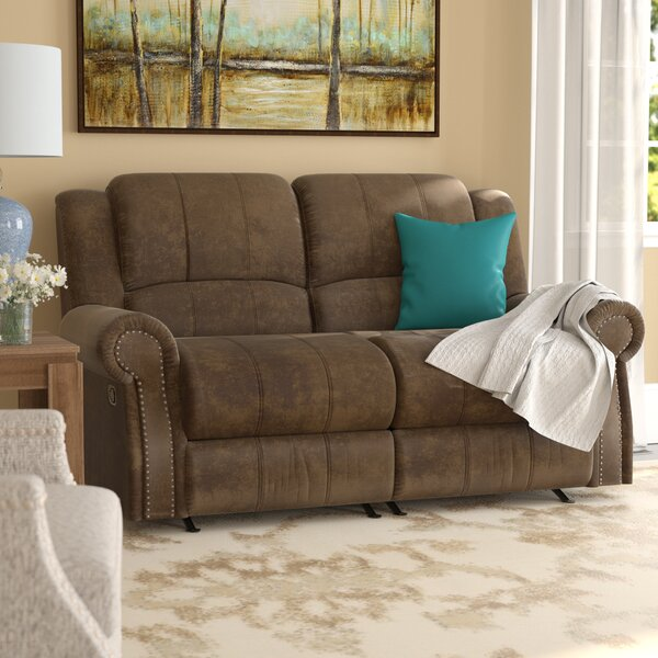 Chamlee Reclining Loveseat by Darby Home Co Darby Home Co