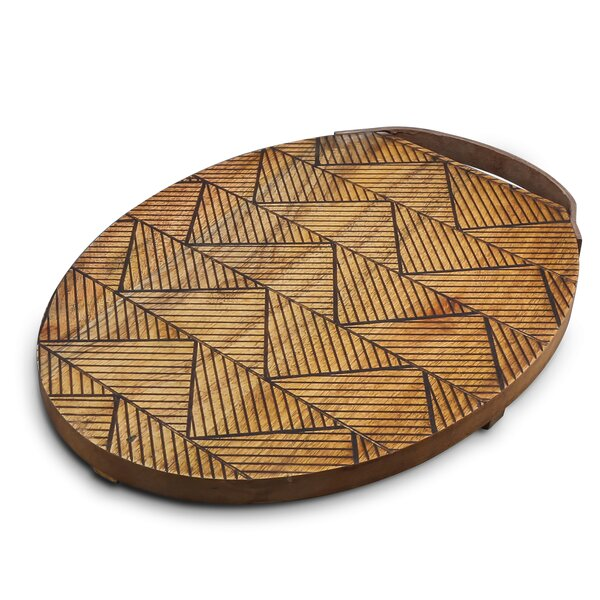 Gruver Oval Platter by Bungalow Rose