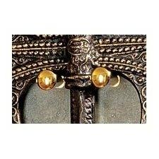 Decorative Brass Axe / Sword Hanger (Set of 2) by Design Toscano