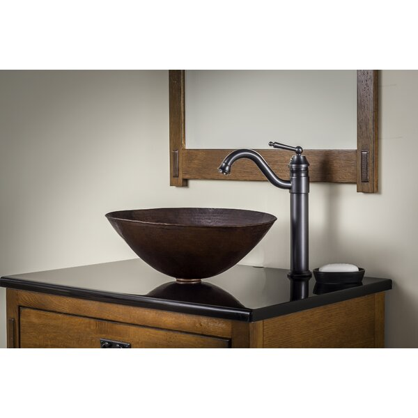 Bilboa Metal Oval Vessel Bathroom Sink with Faucet by Novatto
