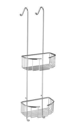Sideline Oval Double Shower Basket by Smedbo