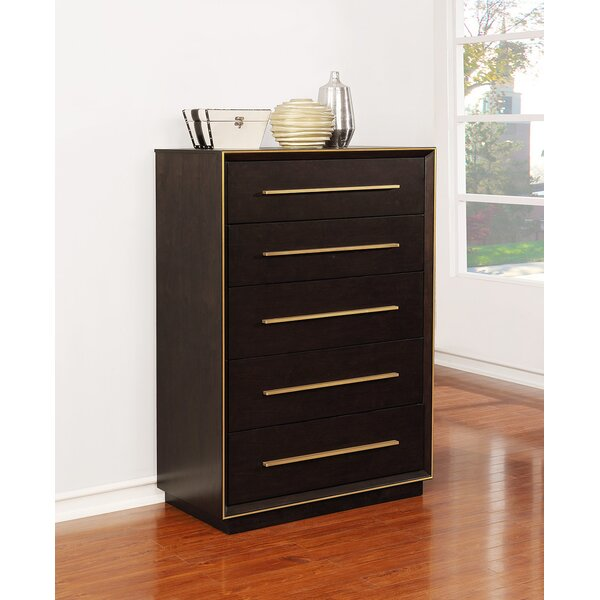 Teme 5 Drawer Chest by Mercer41