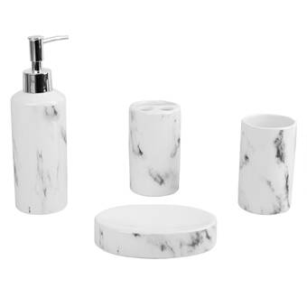 Mercer41 Maines Pearl Mirror Lotion Dispenser Wayfair