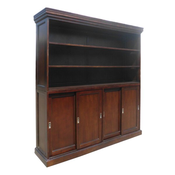 Muir Sliding 4 Door Standard Bookcase by Darby Home Co