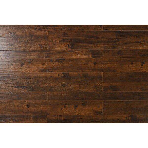 Arletta  13 x 48 x 12mm Oak Laminate Flooring in Indo Cherry by Serradon