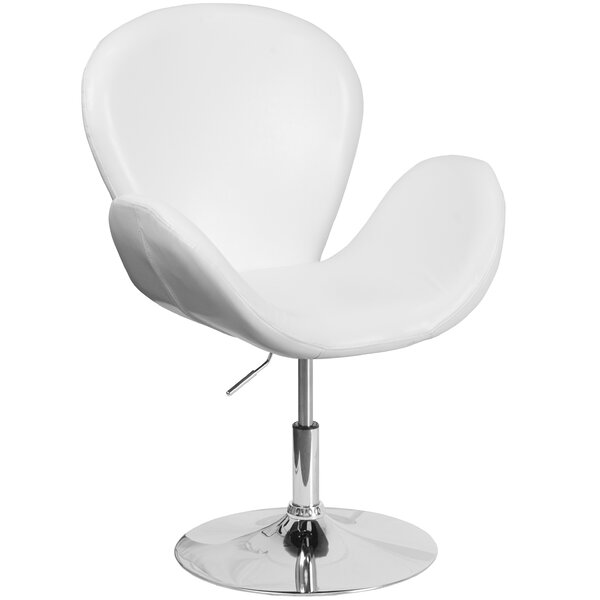 Collier Reception with Adjustable Height Seat Guest Chair by Wrought Studio