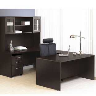 Marta Executive 5 Piece U-Shape Desk Office Suite