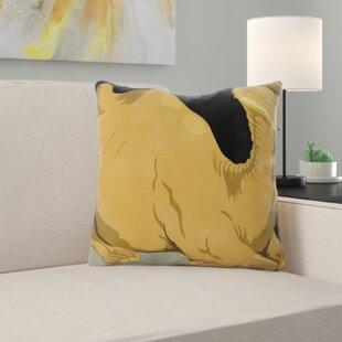 Camel Throw Pillow Wayfair