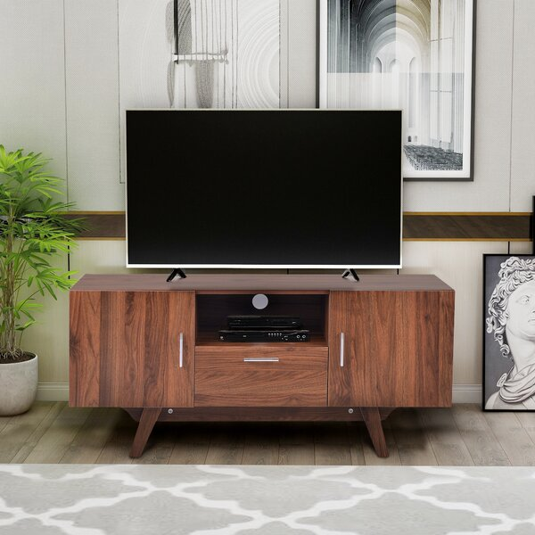 Review Verrett TV Stand For TVs Up To 50