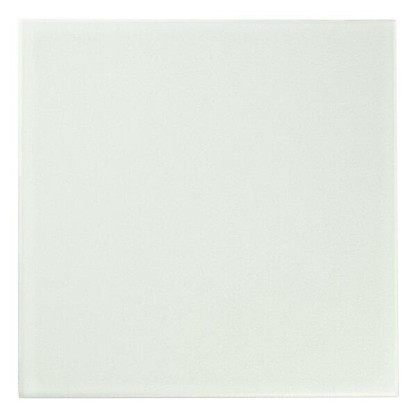 Revive 7.75 x 7.75 Ceramic Field Tile in Off-White by EliteTile