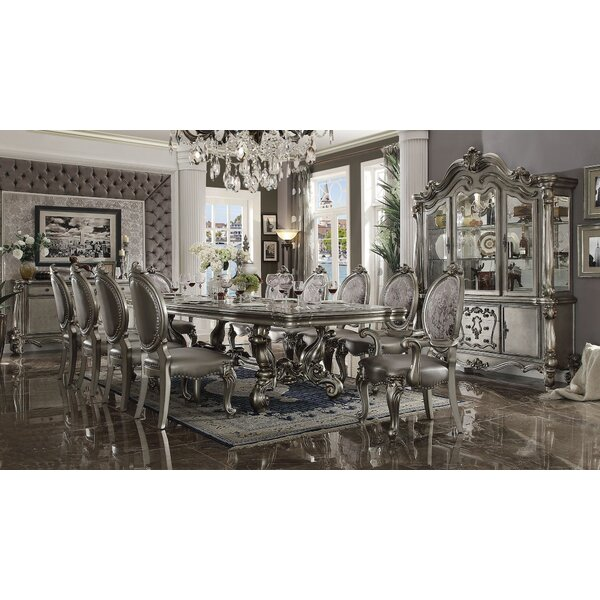 Jackie 11 Pieces Extendable Dining Set by House of Hampton