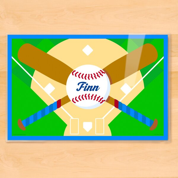 Baseball Personalized Placemat by Olive Kids