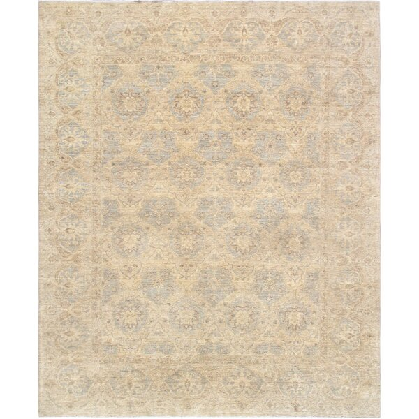 Ferehan Hand-Knotted Wool Ivory Area Rug by Pasargad