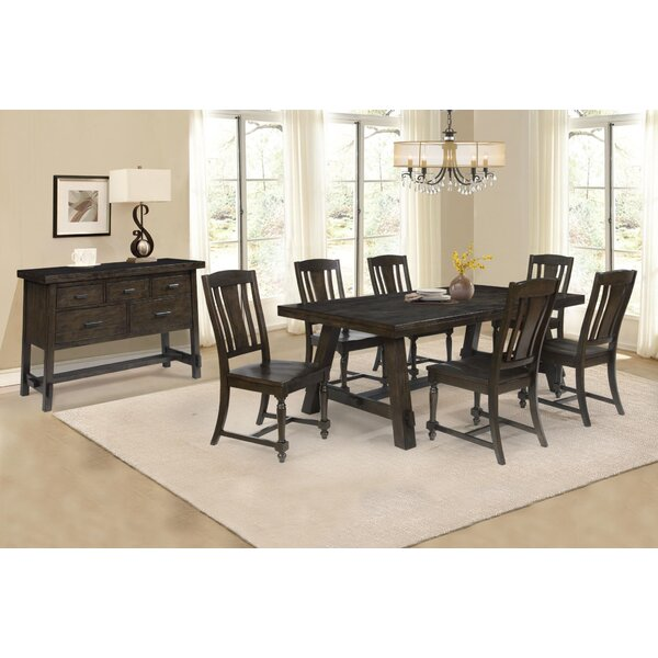 Burket 8 Piece Dining Set by Foundry Select