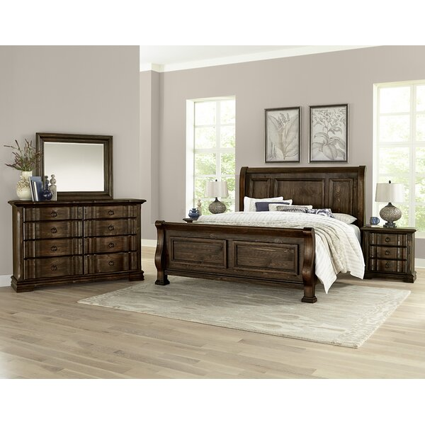 Erving 8 Drawer Double Dresser with Mirror by Darby Home Co