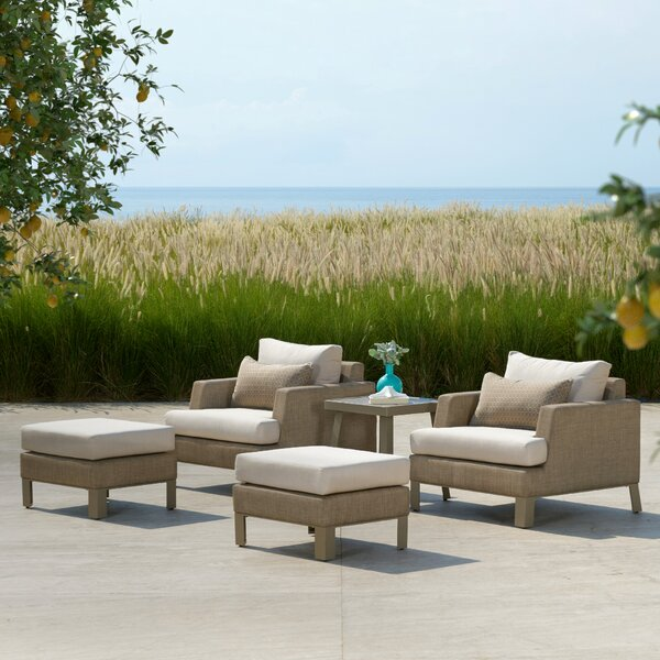 Shiey Sling 5 Piece Seating Group with Cushions
