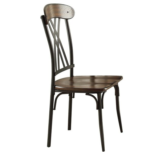 Cavet Double X-Pattern Back Dining Chair (Set of 4) by Gracie Oaks