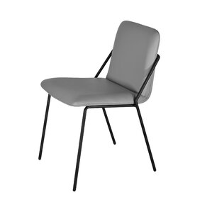 Sling Eco Leather Upholstered Dining Chair by m.a.d. Furniture
