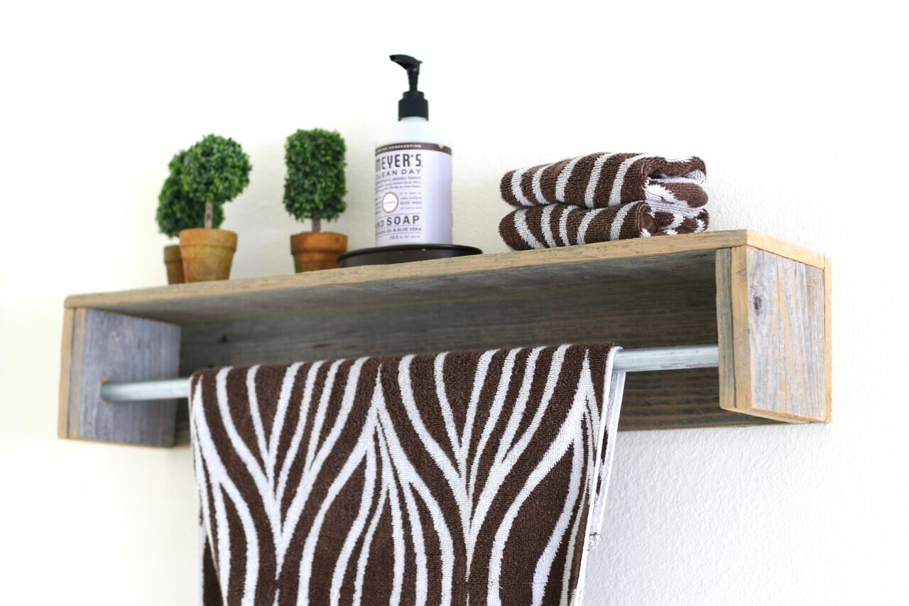 gracie oaks mertens simple towel bar wall shelf w piid=
