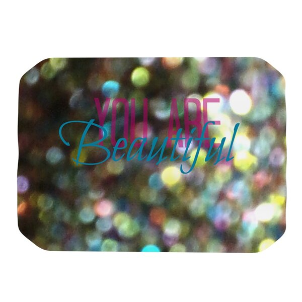You Are Beautiful Placemat by KESS InHouse