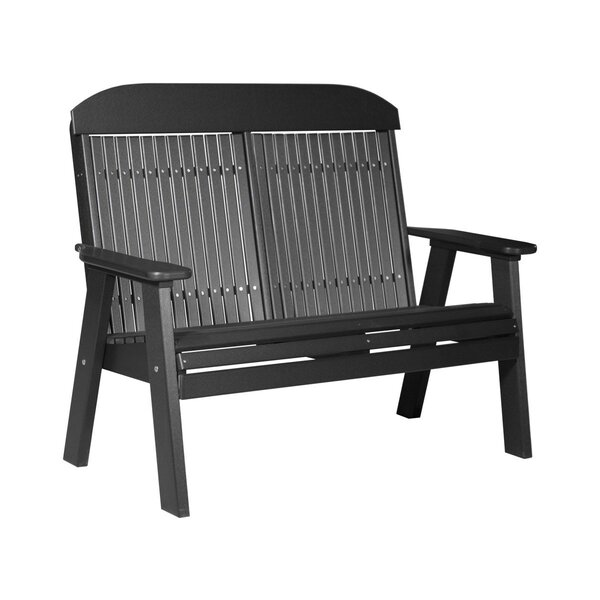 Zamir Classic Plastic Park Bench by Ebern Designs