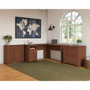 Compare Fralick 3 Piece L-Shape Desk Office Suite By Darby Home Co