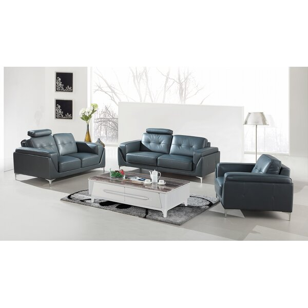Coalpit Heath 3 Piece Living Room Set by Orren Ellis